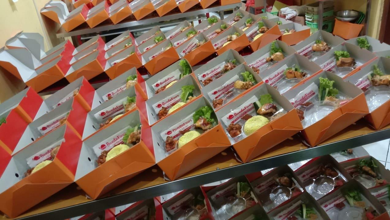 Bunda Nur Catering nasi kotak nasi kuning tumpeng
